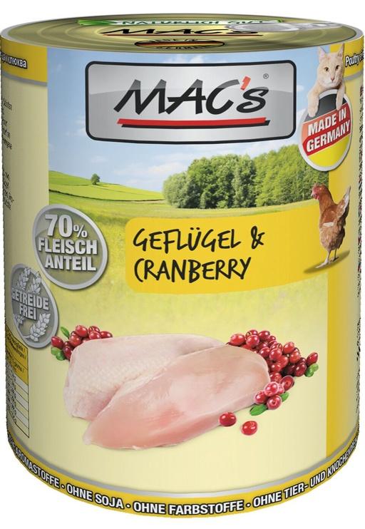Mac's Poultry & Cranberry 400g