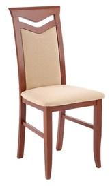 Halmar Citrone Bis Chair Antique Cherry/Beige