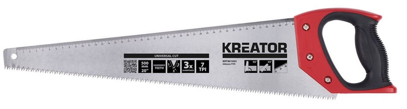 Kreator Wood Hand Saw 500mm