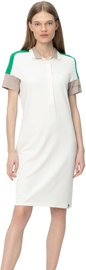 Audimas Womens Soft Surface Modal Polo Dress White S