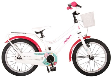 Детский велосипед Volare Brilliant 91663, белый, 16″