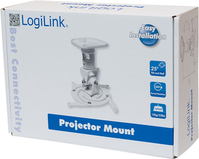 LogiLink Ceiling Mount BP0003 White