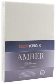 DecoKing Amber Bedsheet 140-160x200 Ecru