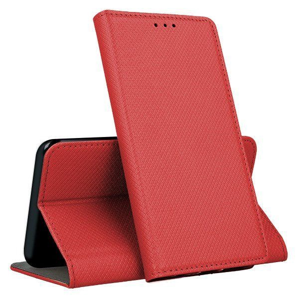 Mocco Smart Magnet Book Case For Huawei P Smart 2019 Red