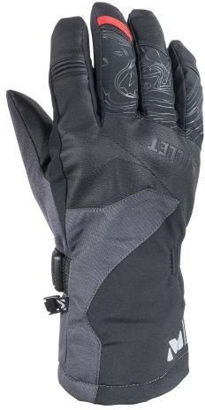 Cimdi Millet Atna Peak Dryedge Black/Gray, M
