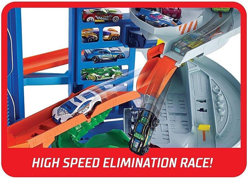 Автомобильная стоянка Mattel Hot Wheels City Ultimate Garage GJL14