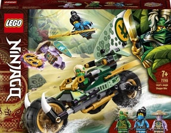 Konstruktors LEGO NINJAGO® Lloyd džungļu motocikls 71745, 183 gab.