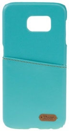 Roar Noble Skin Leather Cover For Samsung Galaxy S6 Mint