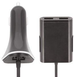 Forever Passenger 4x USB Car Charger 1.5m Black