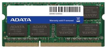 Operatīvā atmiņa (RAM) ADATA ADDS1600W8G11-S DDR3 (SO-DIMM) 8 GB