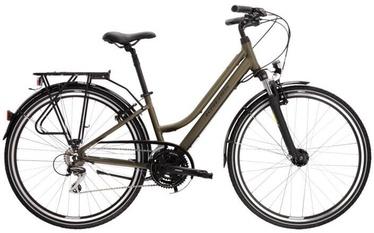 Велосипед Kross Trans Lady 3.0, черный/зеленый, 28″