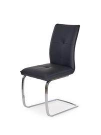 Ēdamistabas krēsls Halmar K - 252 Black