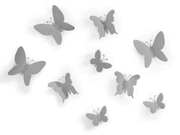Umbra Mariposa Butterflies Wall Decor Grey