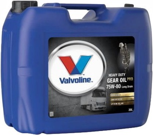Valvoline Heavy Duty Gear Oil PRO 75w80 Long Drain 20l