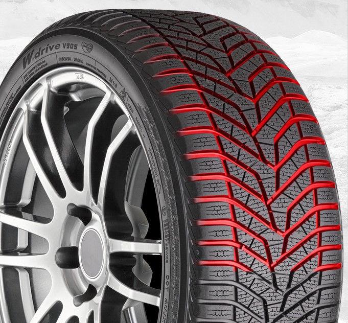 Зимняя шина Yokohama W.Drive V905, 245/40 Р21 100 V C C 71