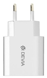 Devia USB Wall Charger White