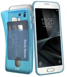 SBS Fluo Card Back Case For Samsung Galaxy S7 Blue