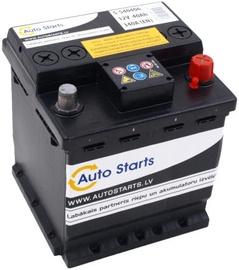 Akumulators Auto Starts, 12 V, 40 Ah, 340 A