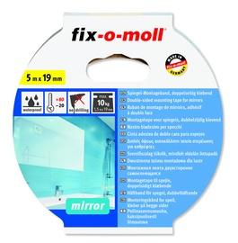 Līmlente Fix-O-Moll 3563056, Divpusējs, 5 m x 1.9 cm