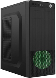 Gembird ATX Case Fornax 150 Green LED
