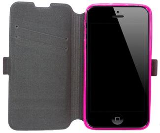 Telone Super Slim Shine Book Case Samsung J500F Galaxy J5 Pink