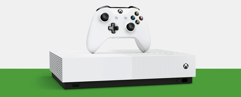 Microsoft Xbox One S 1TB + Minecraft + Sea of Thieves + Forza Horizon 3 All Digital
