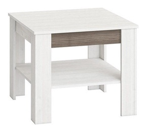 Kafijas galdiņš Signal Meble Blanco 13 White, 670x670x560 mm