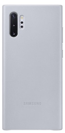 Samsung Leather Back Case For Samsung Galaxy Note 10 Plus Grey