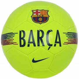 Nike FC Barcelona Supporters Ball SC3291 702 Yellow Size 5