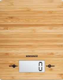 Elektroniski virtuves svari Soehnle Bamboo, brūna