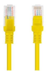 Lanberg Patch Cable UTP CAT5e 0.25m Yellow