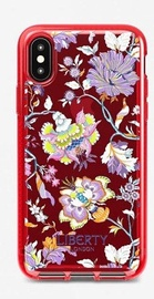 Tech21 Pure Clear Liberty Christelle Back Case For Apple iPhone X/XS Red