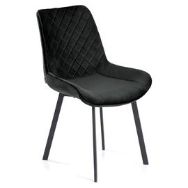 Ēdamistabas krēsls Homede Kemble Black, 4 gab.