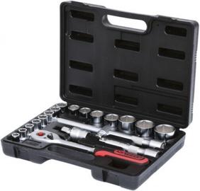 """KS Tools 911.0620 Socket Set 1/2"""" 20pcs"""