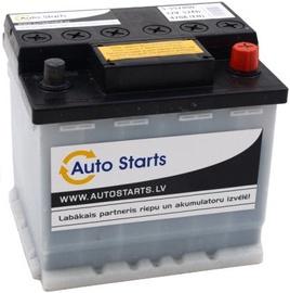 Akumulators Auto Starts, 12 V, 52 Ah, 470 A
