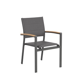 Home4you Foster Garden Chair Grey