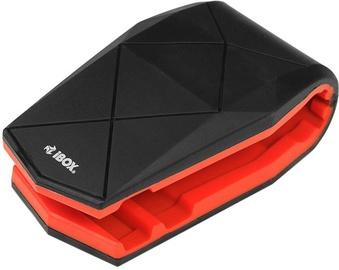 iBOX H4 Alligator Car Holder Black/Red