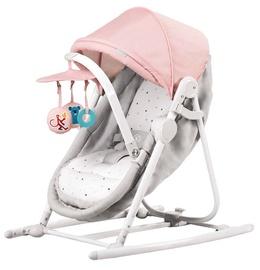 Детская кроватка - качели KinderKraft Unimo Pink