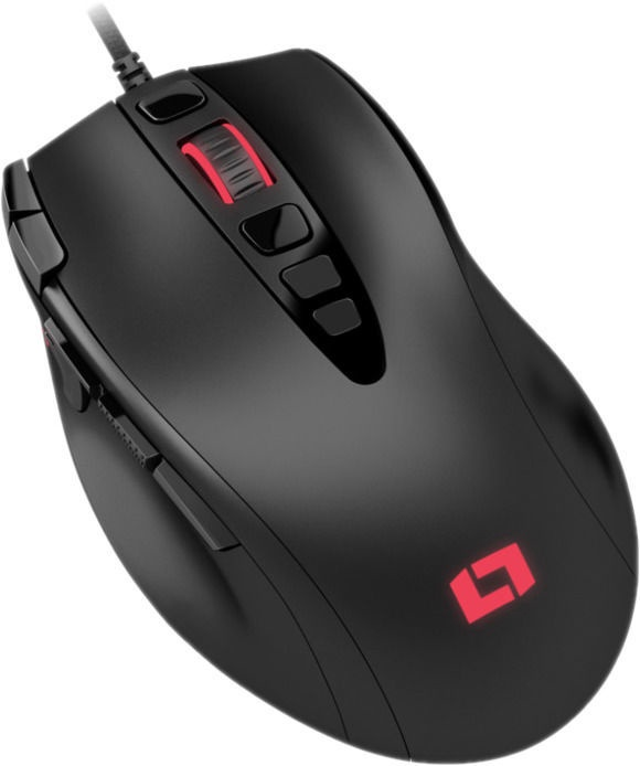 Lioncast LM25 Optical Gaming Mouse Black
