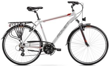 "Велосипед Romet Wagant 1 2128425, серебристый, 21"", 28″"