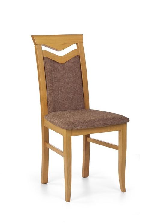 Ēdamistabas krēsls Halmar Citrone, brūna/alkšņa