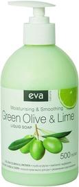 Жидкое мыло Eva Green Olive & Lime Liquid Soap 500ml