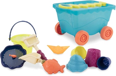 Набор игрушек для песочницы Battat Travel, многоцветный