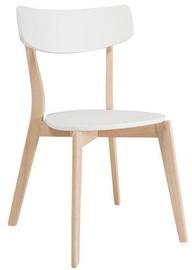 Ēdamistabas krēsls Signal Meble Tibi, balta