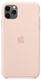 Apple Silicone Back Case For Apple iPhone 11 Pro Max Pink Sand