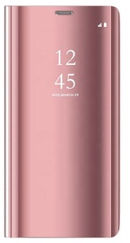 OEM Smart Clear View Case For Xiaomi Redmi Note 9S/9 Pro Pink