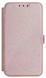 Mocco Shine Book Case For Samsung Galaxy J6 J600 Rose Gold