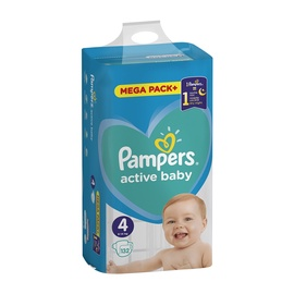 PAMPERS ACTIVE BABY S4 132 GAB MB