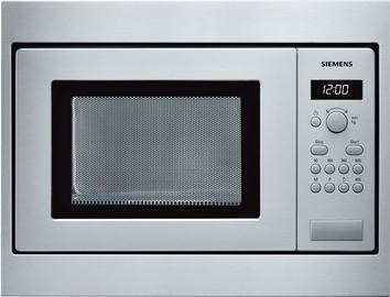 Iebūvēta mikroviļņu krāsns Siemens iQ100 HF15M552