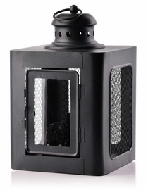 Mondex Kanvar Fireplace Lanter Black 28cm